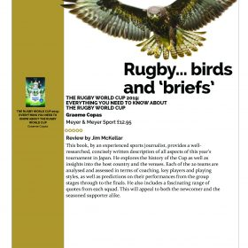 5 Stars for Rugby World Cup 2019 Book, from Sorted Magazine