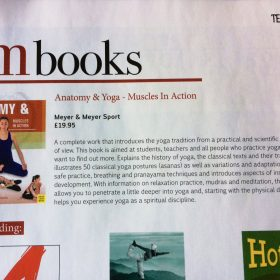 Anatomy & Yoga features in OM Yoga Magazine