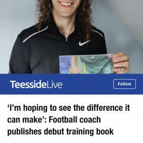 'I'm hoping to see the difference it can make': Football coach publishes debut training book